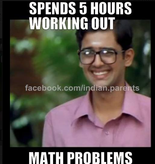 Working out smart boy meme indian student parent memes