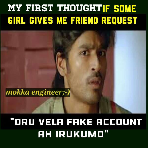 Getting Friend Request From Girl