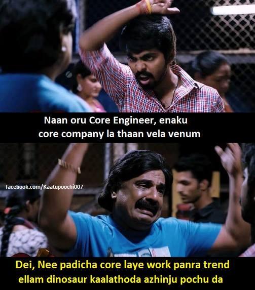 Core Engineering Trisha Illana Nayanthara comedy