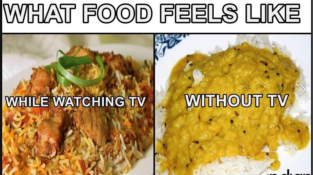 What food feels like