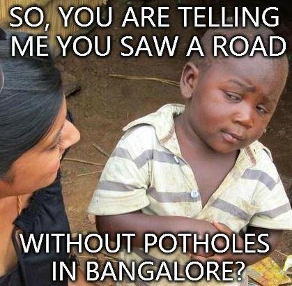 Roads in Bangalore