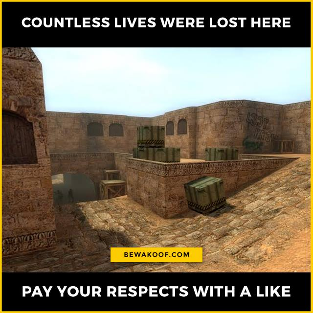 Countless lives were lost here, pay your respects/...