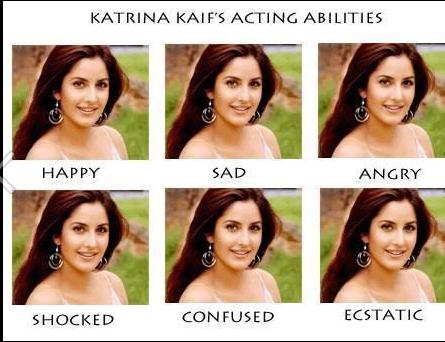 Katrina Kaif's Acting