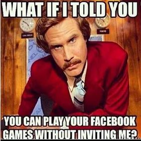 Play Facebook Games with me please