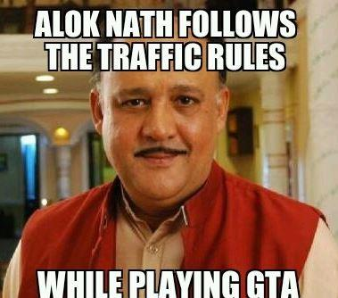 When Alok Nath plays GTA