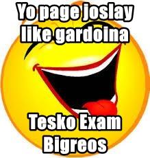 Yo page joslay like gardoina