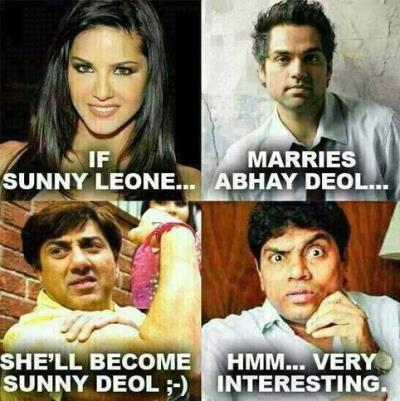 If Sunny Leone Marries Abhay Deol