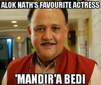 Alok Nath's favorite actress