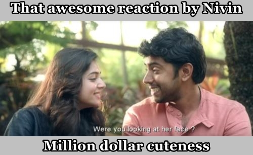 That awesome reaction by Nivin