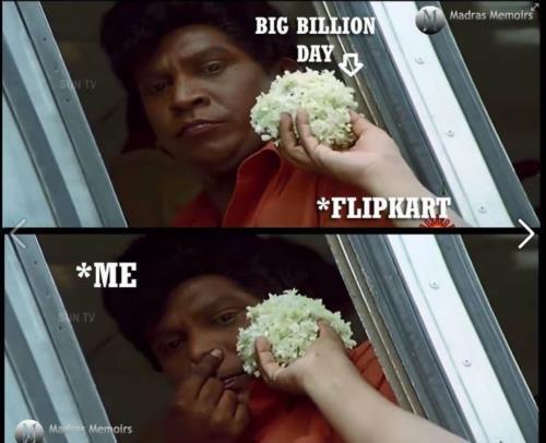 Big Billion Day Vadivelu meme