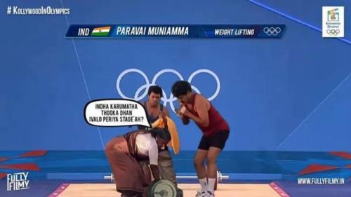 Paravai Muniyamma in olympics