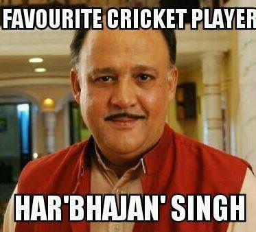 Alok nath's favorite cricket player