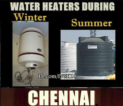Winter Vs. Summer in Chennai