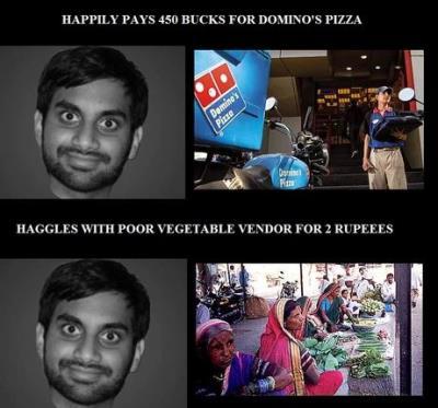 Pizza Vs. Vegetable Vendor