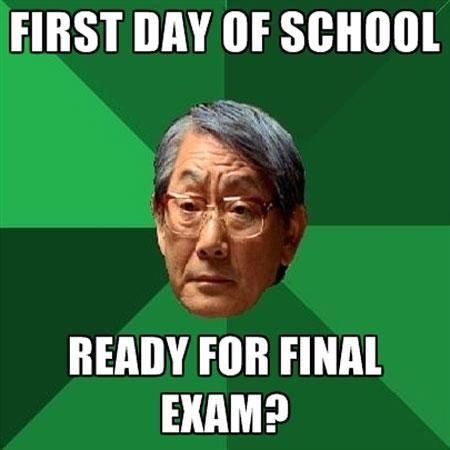 Ready for final exam?