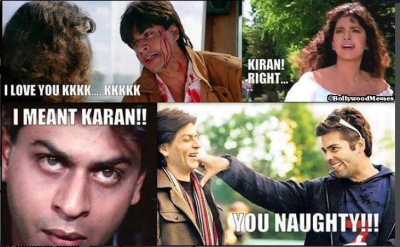 Sharukh Khan meme
