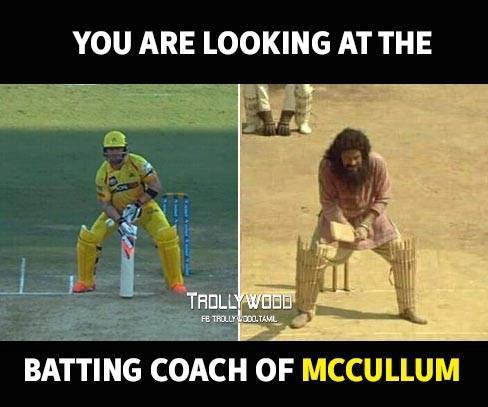 Batting Coach of Mccullum