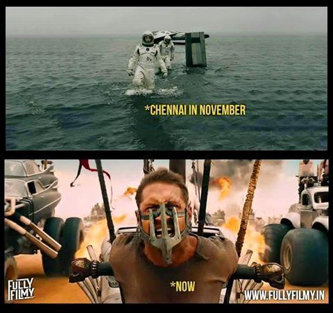 Chennai in November Vs. April