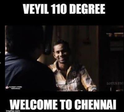 Welcome to Chennai