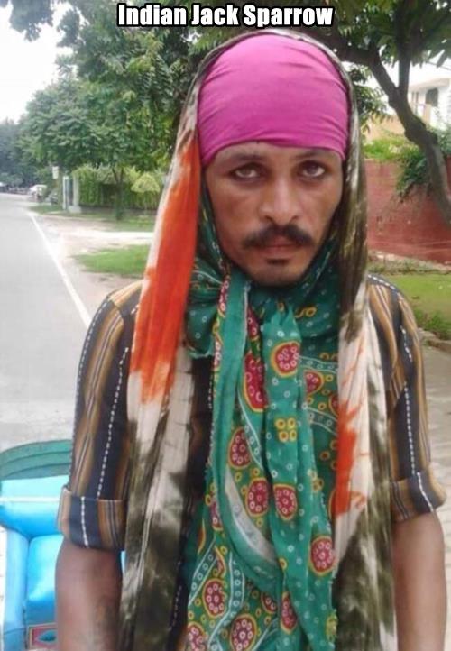 Indian Jack Sparrow