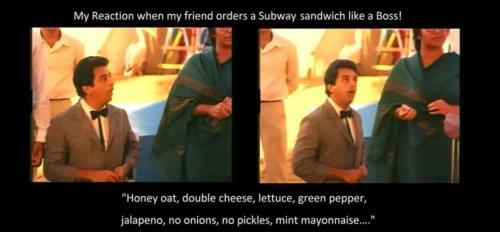Ordering Subway Sandwich