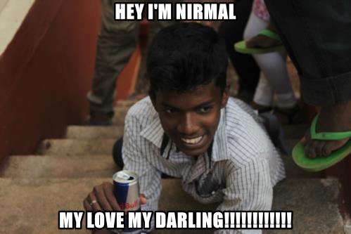 HEY I'M NIRMAL