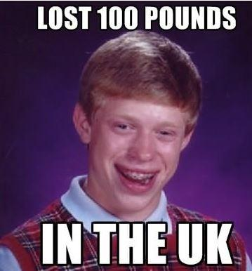 Bad Luck Brian lost 100 pounds