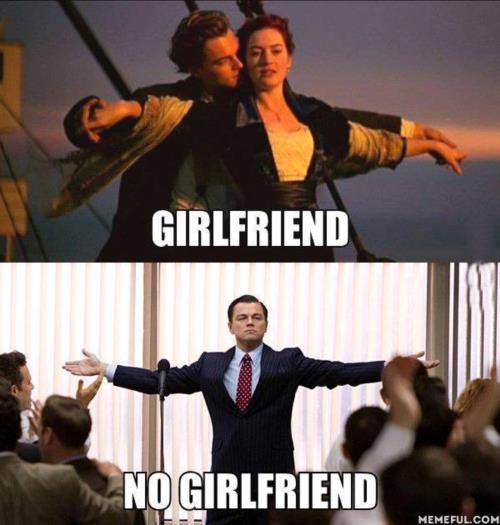 Girlfriend Vs. No Girlfriend