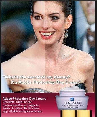 Adobe Photoshop Day Cream - the secret of my beaut...