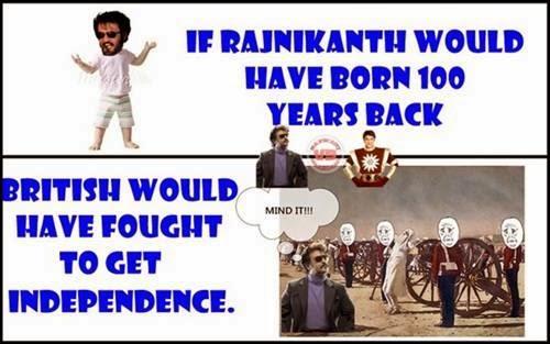 If Rajinikanth was born last century
