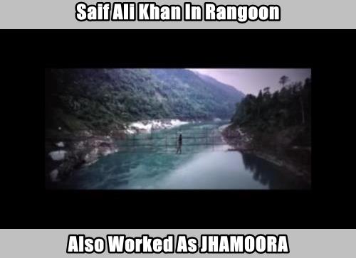 Saif Ali Khan In Rangoon