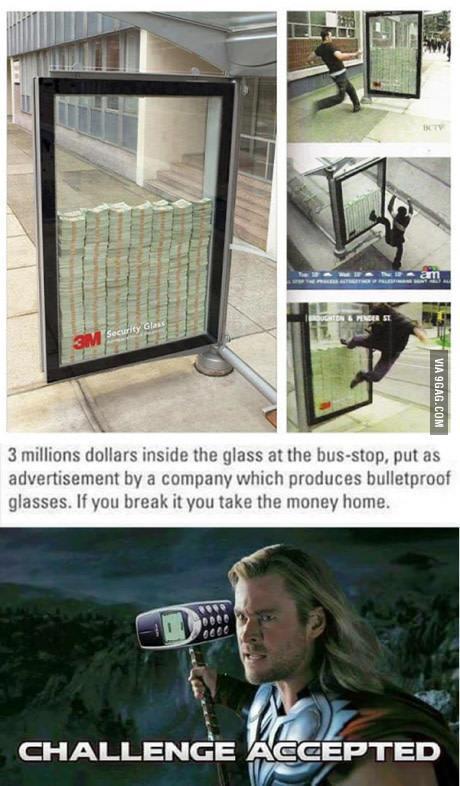 Bullet Proof Glass Advertisement