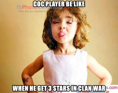 COC PLAYER BE LIKE