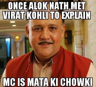 Virat Kohli MC