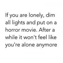 Feeling lonely?