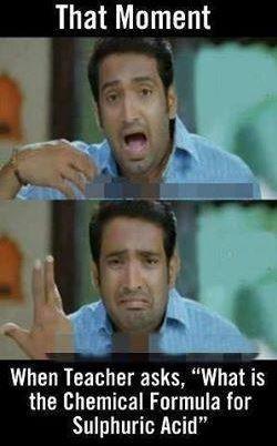That moment when teacher asks reaction Tamil meme.