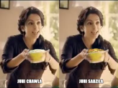 Juhi Chawla Bollywood meme