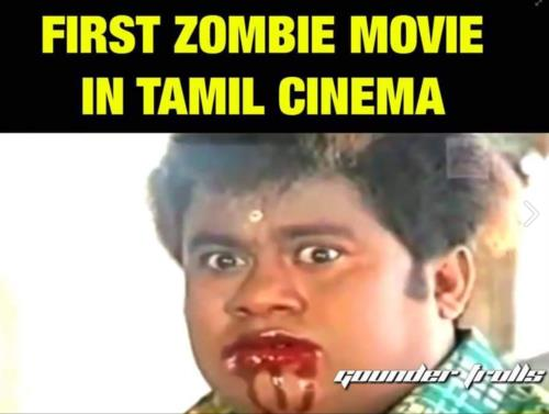First zombie movie in Tamil Cinema