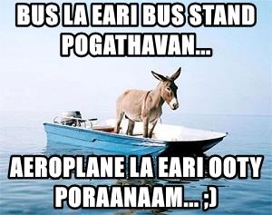 BUS LA EARI BUS STAND POGATHAVAN...