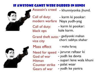 Names for Games in Hindi