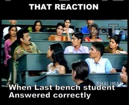 Last bencher School meme