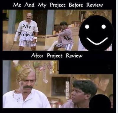 Project Review - Before Vs. After