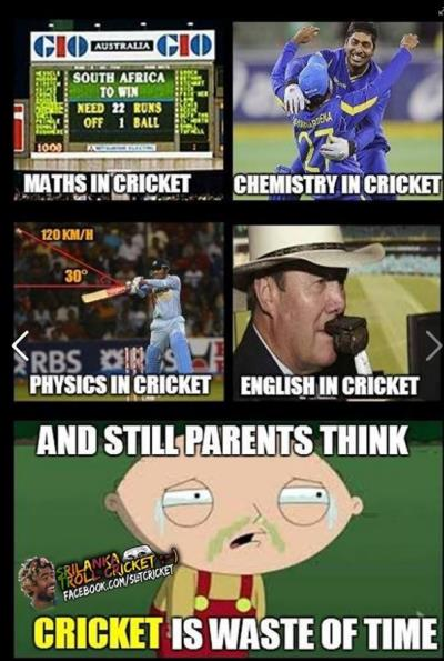 cricket and studies   tamil memes