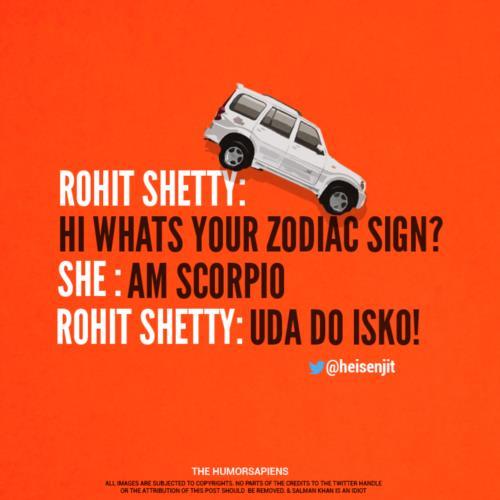 Rohit Shetty meme