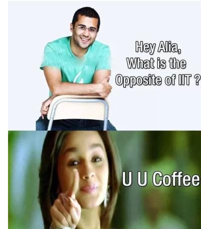 Opposite of IIT