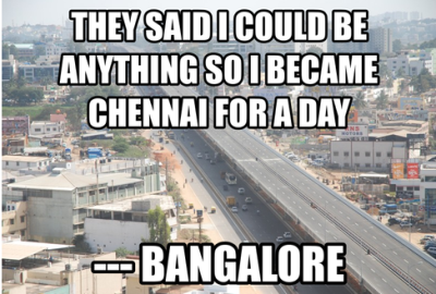 Chennai Vs. Bangalore